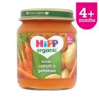 Hipp organic tender carrots & potatoes - stage 1 - 125g Brand Price Match - Checked Tesco.com 17/09/2014