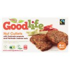 Goodlife fairtrade 4 nut cutlets - 320g