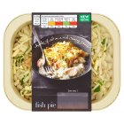 menu from Waitrose Crunchy topped fish Pie - 400g