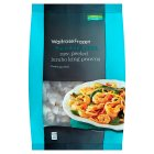 Waitrose Frozen raw, peeled jumbo king prawns - 350g
