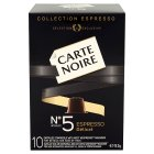 Carte Noire espresso no.5 delicat, 10 coffee capsules - 53g New Line