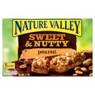 Nature Valley sweet & nutty peanut - 5x30g Brand Price Match - Checked Tesco.com 30/11/2015
