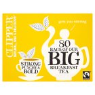 Clipper Fairtrade big breakfast tea 80 bags - 250g