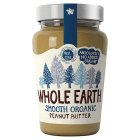 Whole Earth organic smooth peanut butter - 340g Brand Price Match - Checked Tesco.com 26/08/2015
