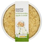 essential Waitrose british bramley apple crumble - 500g