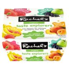 Rachel's organic taste explorers yogurt - 4x100g Brand Price Match - Checked Tesco.com 27/10/2014