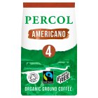 Percol Fairtrade all-day Americano ground coffee - 200g Brand Price Match - Checked Tesco.com 01/07/2015