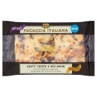 Dell' Ugo focaccia goats cheese & red onion - 205g