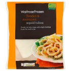 Waitrose frozen squid tubes - 400g