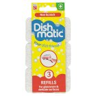 Dishmatic non scratch refills pack of 3 - 3s