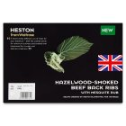 Heston from Waitrose smoked beef back ribs - per kg
