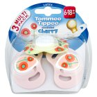 Tommee Tippee Cherry Shaped Decorated Soothers (3 per pack)