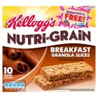 Kellogg's nutri-grain oat granola, cinnamon - 5x40g Brand Price Match - Checked Tesco.com 23/07/2014