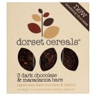 Dorset Cereals 3 Bars Dark Chocolate & Macadamia