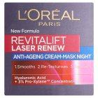 L'Oreal revitalift laser renew night - 50ml Brand Price Match - Checked Tesco.com 29/07/2015