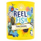 The Reel Fish Co tuna in sunflower oil - drained 3x112g