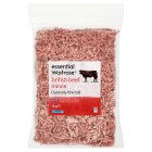 essential Waitrose British beef mince - 1kg