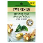Twinings green tea seasonal edition 20 tea bags