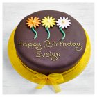 Chocolate Gerbera Cake 8