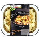 menu from Waitrose Crunchy topped cottage pie - 350g