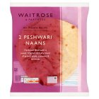 Waitrose two peshwari naan - 300g