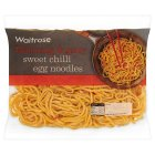 Waitrose sweet chilli dressed egg noodles - 300g
