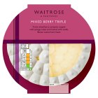 Waitrose mixed berry trifle - 580g