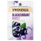Twinings blackcurrant burst 20 teabags - 40g Brand Price Match - Checked Tesco.com 23/07/2014