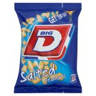 Big D salted peanuts - 200g
