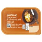 Waitrose Rapeseed & Coconut Oil Spread - 250g