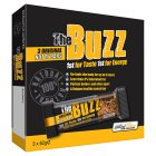 The Buzz original nutty bars - 3x62g