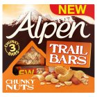 Alpen trail bars chunky nuts - 3x46g Brand Price Match - Checked Tesco.com 29/09/2014