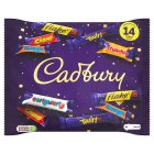 Cadbury Heroes family 20 x treatsize chocolate bag 278g - 278g