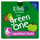 Ella's Kitchen Organic smoothie fruit the Green One baby food - 5x90g Brand Price Match - Checked Tesco.com 25/08/2014