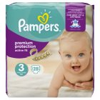 Pampers Active Fit Sz 3 Carry 29 Nappies - 28s