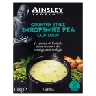 Ainsley Harriott Shropshire pea cup soup