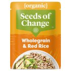 Seeds of Change quinoa & flax wholegrain red rice - 240g