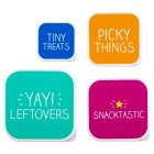 Happy Jackson set of 4 snack boxes -
