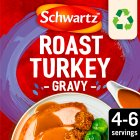 Schwartz roast turkey gravy mix - 25g Brand Price Match - Checked Tesco.com 04/12/2013