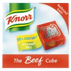 Knorr 6 reduced salt! beef cubes - 66g Brand Price Match - Checked Tesco.com 04/12/2013
