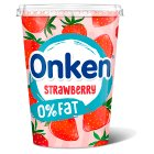 Onken fat free strawberry yogurt - 450g