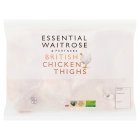 essential Waitrose Frozen British chicken thighs - 1.25kg