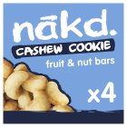 Nákd cashew cookie - 4x35g Brand Price Match - Checked Tesco.com 01/07/2015