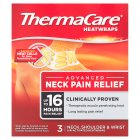 Thermacare heatwraps neck, shoulder & wrist - 3s
