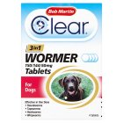 Bob Martin 3in1 dewormer for dogs - 4s