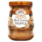 Sacla` black summer truffle pesto - 90g New Line