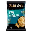 Sharwood's Thai spiced crackers - 60g