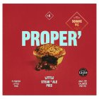 Square Pie Steak & Ale Mini Pies - 4x65g