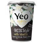 Yeo Valley Greek style yogurt with vanilla