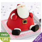 Raymond Briggs' Father Christmas Cake - each